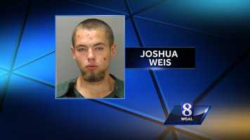 Thursday, Oct. 3:Northern Lancaster County Regional Police have charged a Lititz man in a series of burglaries. Joshua Weis, 19, broke into homes and cars in Warwick and Clay townships between August and September, police said. A 16-year-old boy is being investigated as an accomplice. Eight firearms, coins and jewelry were taken in the burglaries, police said. Some of the stolen items were recovered from local pawn shops.