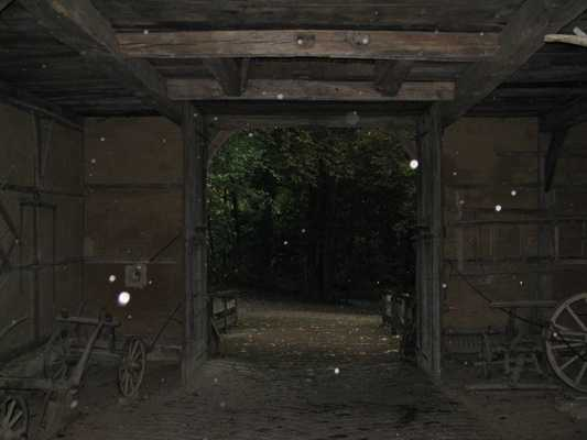 """18. This one is practically an invasion of orbs. The photographer writes simply, """"Orbs - manifestations form the spirit world."""""""