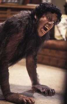 American Werewolf in London - for its time, this movie featured one of the most terrifying transformations ever.