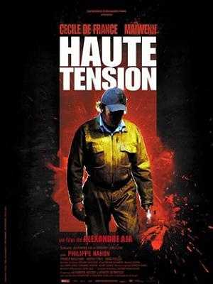 High Tension - This one is a French slasher flick. In France it was titled Haute Tension, which doesn't sound quite so scary.