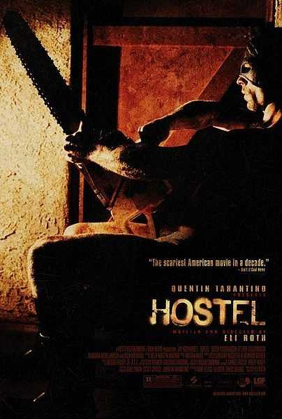 Hostel - traveling to Europe has never been so terrifying.