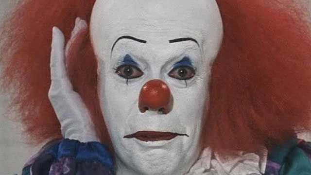 It - Pennywise, the creepiest clown ever, has scared more than a few Facebook fans.