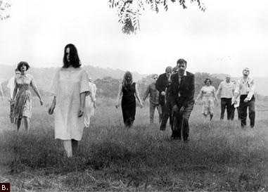 Night of the Living Dead - this was the zombie movie that started them all.