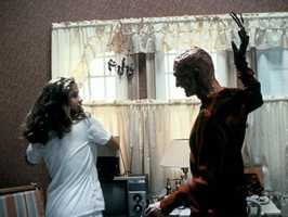 Nightmare on Elm Street -One, two Freddy's coming for you. Three, four, better lock your door.
