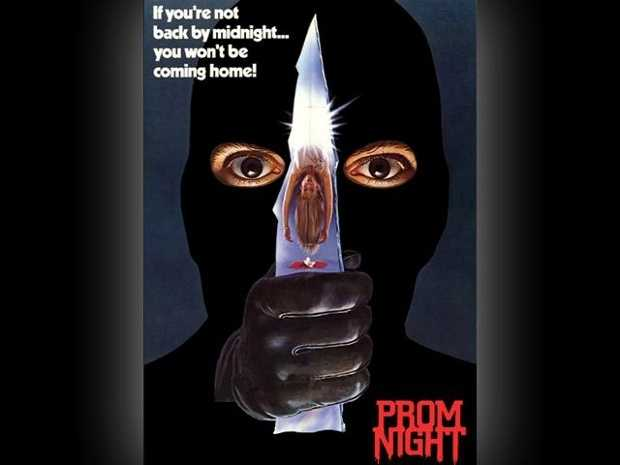 Prom Night - this one also came in two versions... the 1980 original (starring Jamie Lee Curtis) and a 2008 remake (not starring Jamie Lee Curtis).