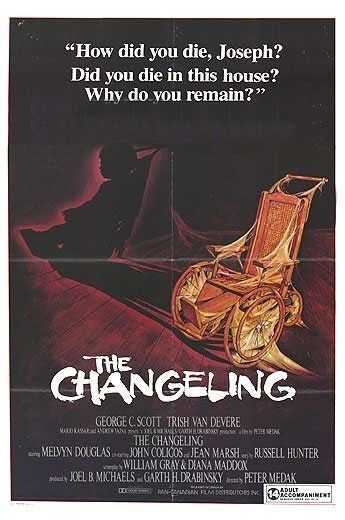 The Changeling - This 1980 scare-fest starred George C. Scott and was made in Canada.