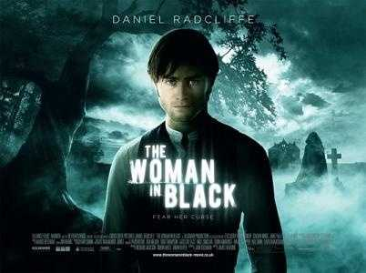 The Woman in Black - this 2012 horror flick starred Harry Potter's Daniel Radcliffe.