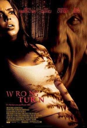 Wrong Turn - this movie took the lost in the woods theme and ratcheted it up several notches.