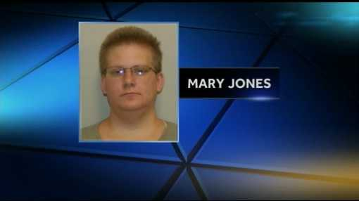 Jones is charged with simple assault and recklessly endangering her niece.