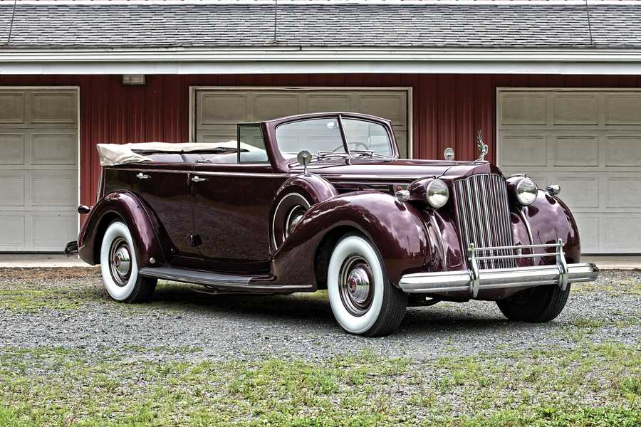 This photo and the remaining photos were provided by RM Auctions. Packard Twelve Convertible Sedan