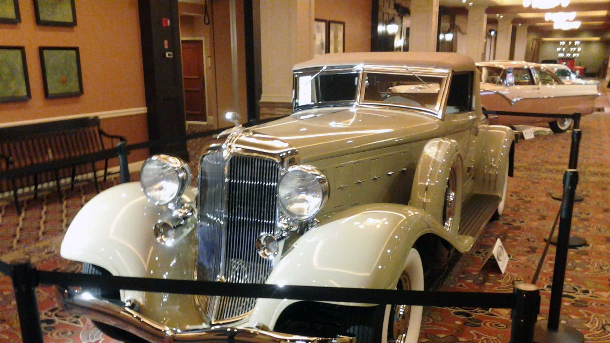 RM Auctions is holding its annual collector's car show at the Hershey Lodge and Convention Center.
