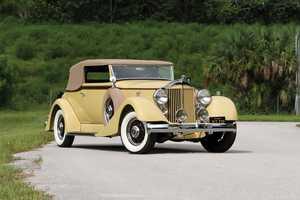 Packard Eight Convertible Victoria