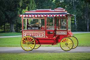 Cretos Model D Popcorn Wagon