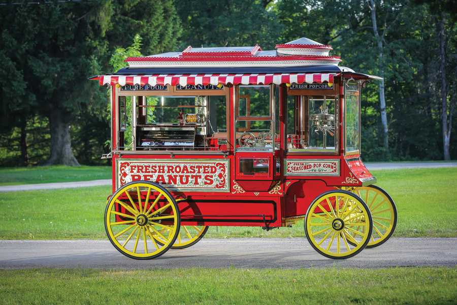 Cretos Model D Popcorn Wagon