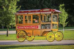 Dunbar Model 1200 Popcorn Wagon