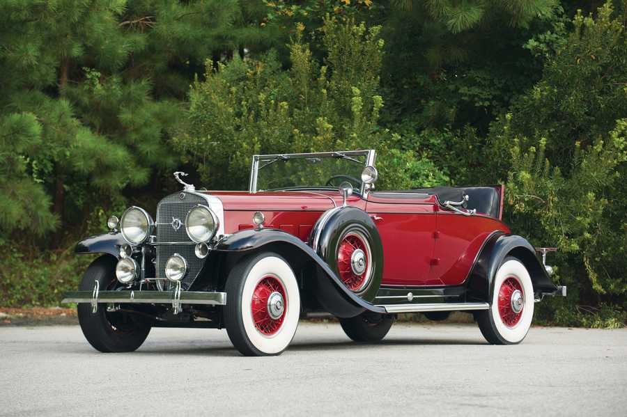Cadillac V-12 Convertible Coupe by Fleetwood