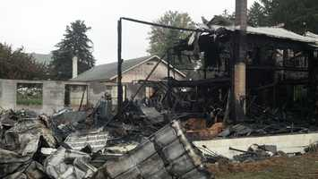 The fire that tore through a business early Thursday in Manor Township, Lancaster County, has been ruled arson.
