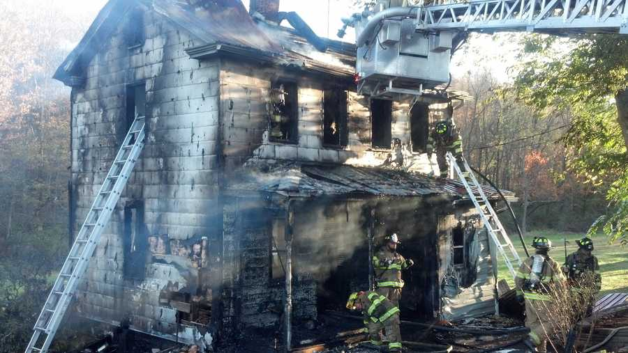 Four people lived in the home, which is considered a total loss.