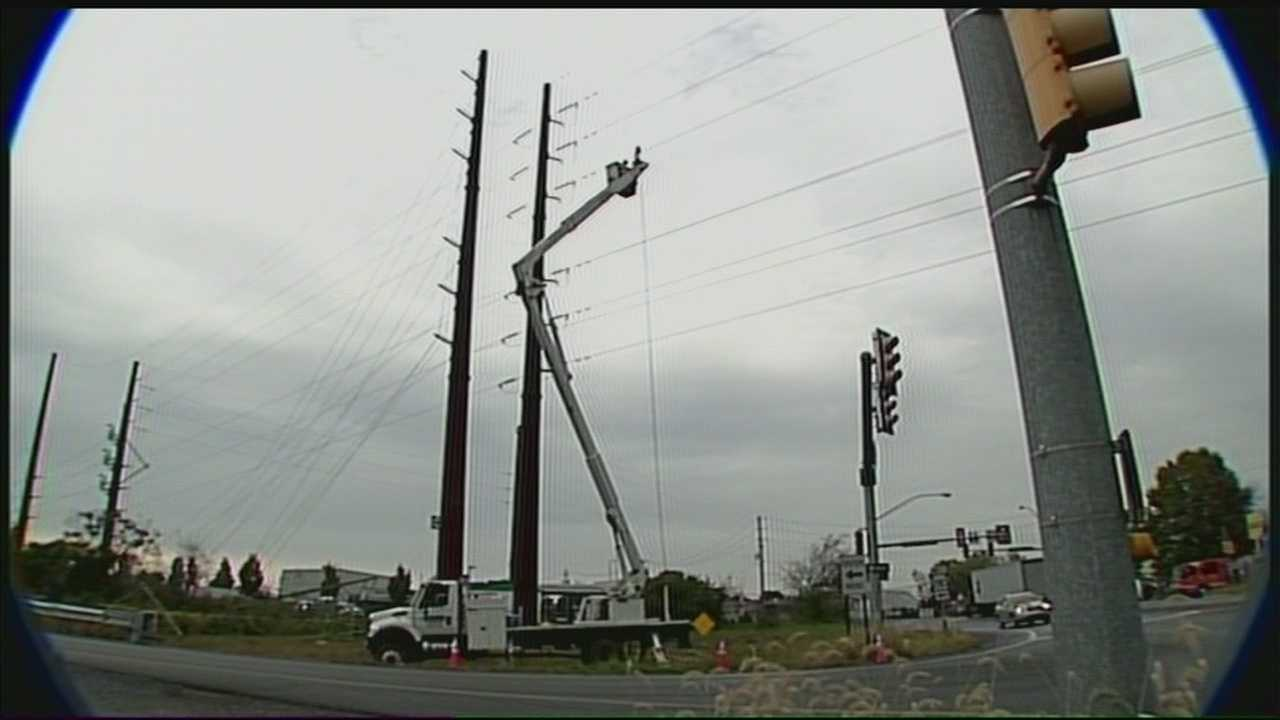 Power line improvements will stall traffic on Route 283 again. This time the work is scheduled for 10 p.m. to 5 a.m.