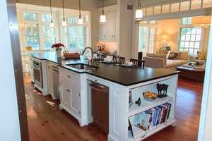 The home features five bedrooms and four bathrooms in more than 5,000 square feet. The home is featured onrealtor.com.