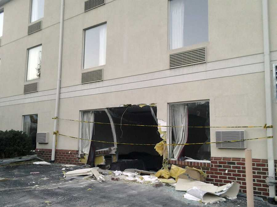 Friday, Nov. 8: A pickup truck crashed into a motel in Gettysburg early Friday. The crash happened at the Motel 6 on Route 30 about 3 a.m. Friday. Nobody was in the room the pickup crashed into and there were no reports of injuries. The motel's general manager said the crash set off the building's fire alarm.