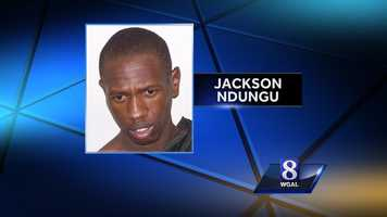 Monday, Nov. 11:New Holland police said they had to use a stun gun on Jackson Ndungu, 27, early Monday after he resisted arrest during a domestic dispute with his girlfriend. The victim's 8-year-old son called 911 but Ndungu took the phone so the boy could not tell the dispatcher what was happening, police said. During the fight, the victim tried to get away and cut her leg when she fell into a mirror, police said. Ndungu is in Lancaster County Prison with bail set at $50,000.