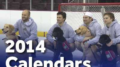 Pick up a Hershey Bears/United Disability Services 2014 Calendar!