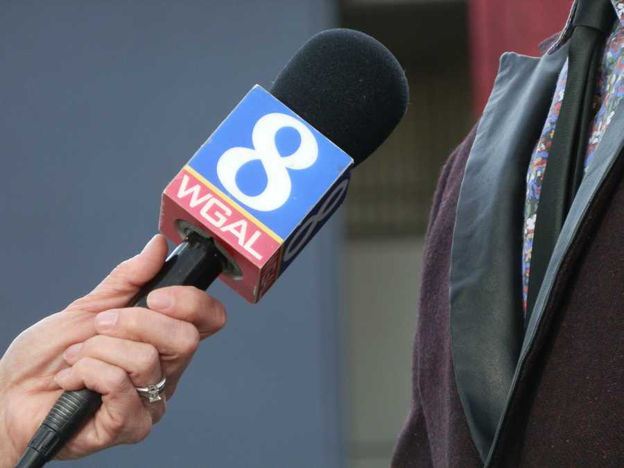 Just the WGAL mic making its debut in LA.