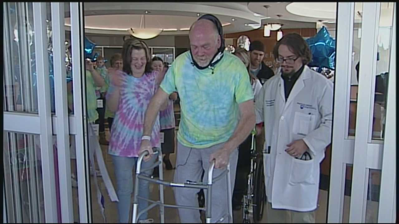 paralyzed man walks