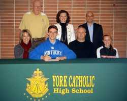 Erich Hartman will play baseball at the University of Kentucky.