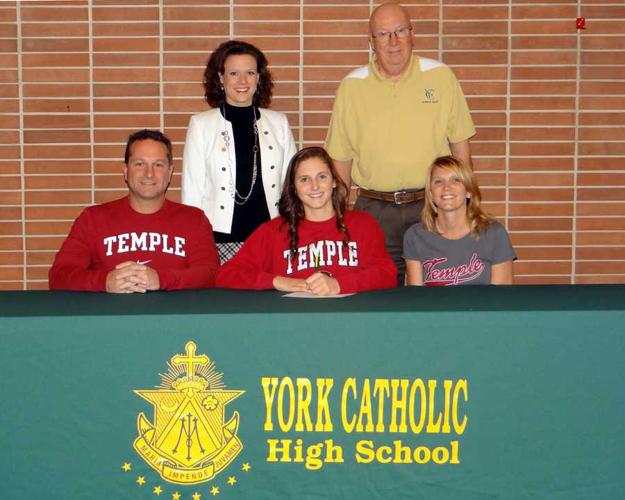 Kayla Kennedy will attend Temple University and compete on the gymnastics team.