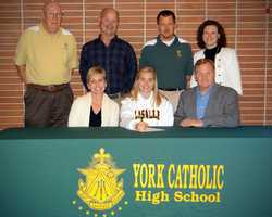 Lindsay Givens will attend LaSalle University and play lacrosse.