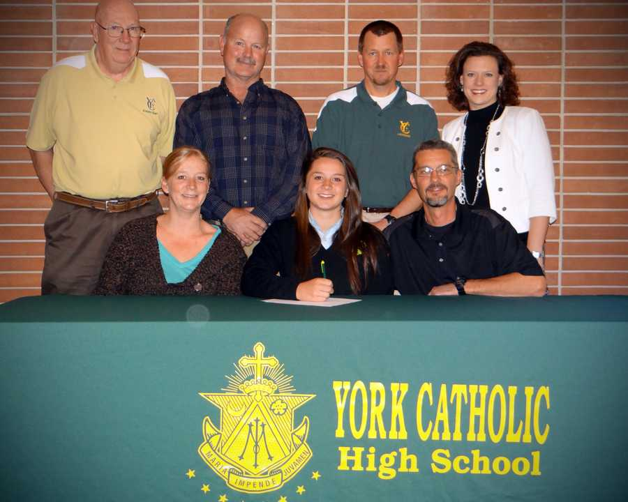 Sarah Gabriele will attend Kutztown University and play lacrosse.
