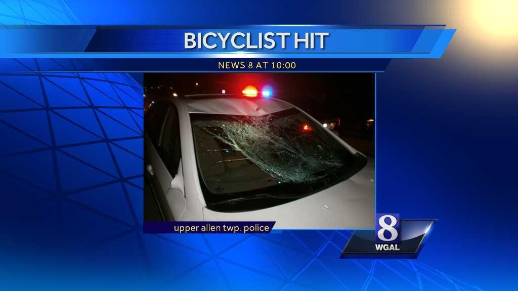 Car hits bike