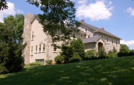 The home is situated on 2.7 acres and is featured onrealtor.com.