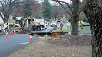 Officials with Pennsylvania American Water expect water service will be restored by Tuesday night.