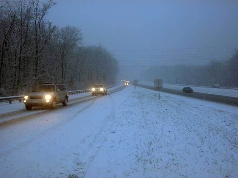 Route 283 at Toll House Road in Dauphin County