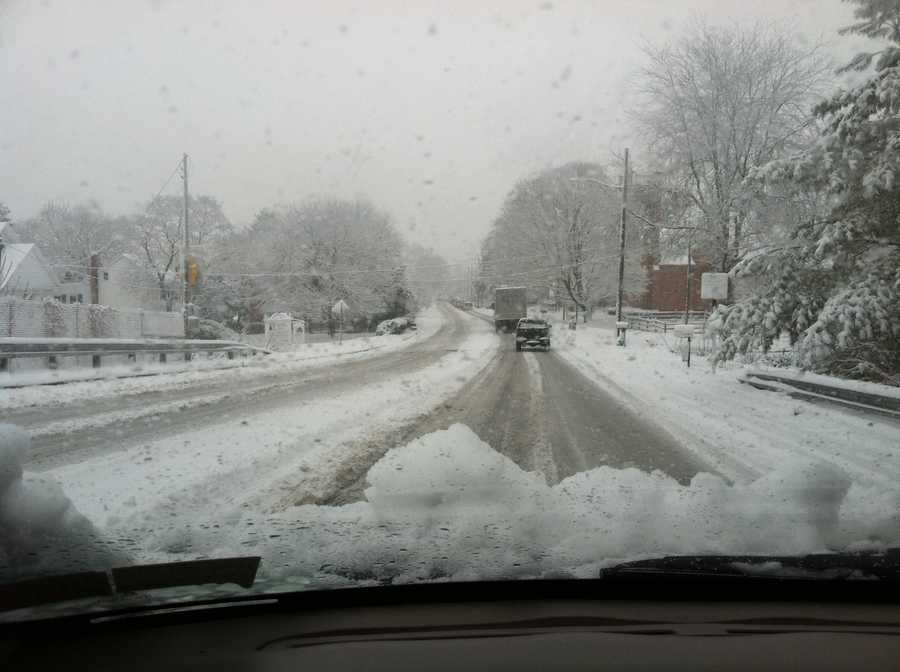 Marietta Avenue near Rohrerstown Road, Lancaster County, 8:45 a.m. Tuesday.