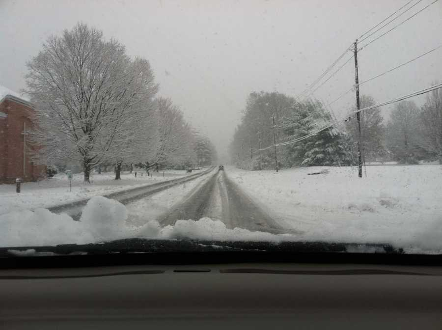 Marietta Avenue in Lancaster township, 8:45 a.m. Tuesday.