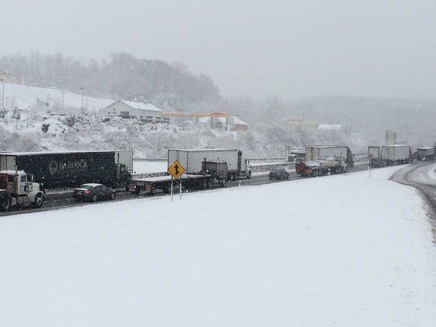 I-83 near Mount Zion Road around 10 a.m. Tuesday.