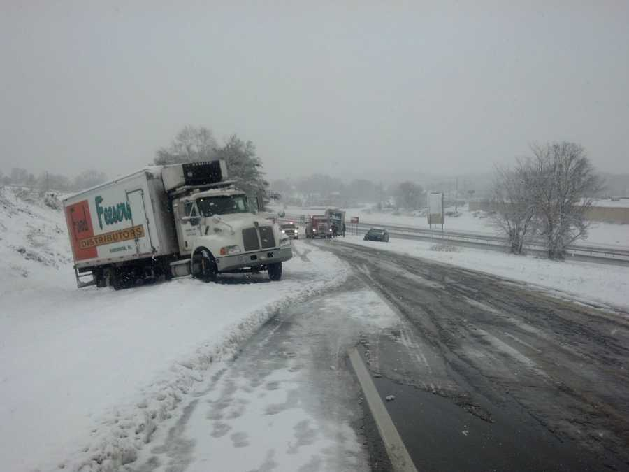 West Hempfield Township, Route 30 exit at Prospect Road, Lancaster County, Tuesday morning.