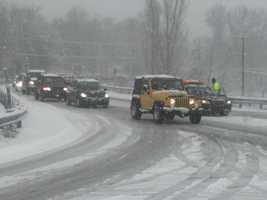 Stony Battery Road near Route 30, Lancaster County, Tuesday morning.
