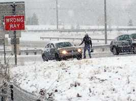 Tuesday, Dec. 10: A quick-moving storm caused a messy commute, particularly in Lancaster and York counties.