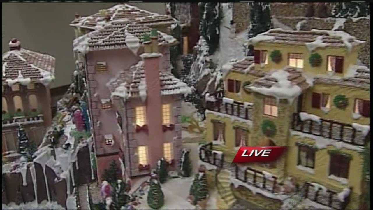 12.12 Gingerbread village