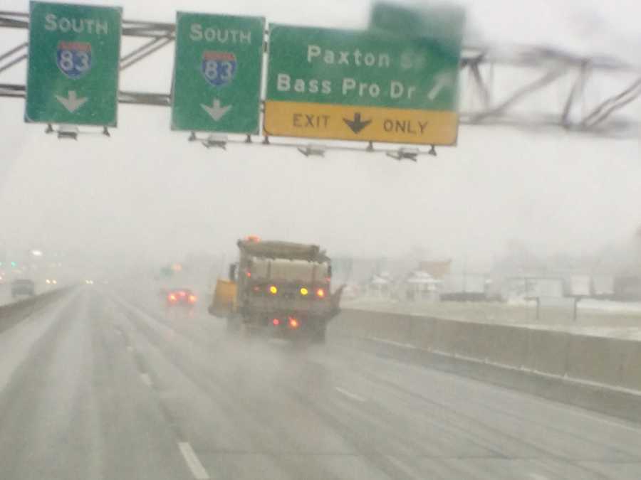 I-81 near Harrisburg, 3:45 p.m. Saturday.
