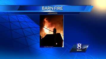 The owner of the barn, Jose Morninglan, shared photos with News 8.