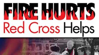 When Fire Hurts, The American Red Cross Helps!