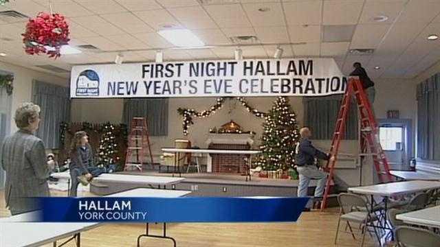 12.30 Hallam New Year's Eve