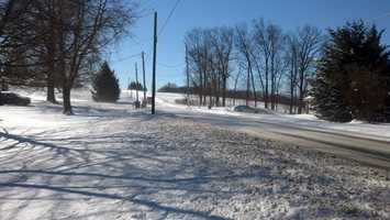 Friday, Jan. 3: Road crews battled blowing and drifting snow after a storm dumped up to 7 inches in parts of the Susquehanna Valley, starting Thursday afternoon.