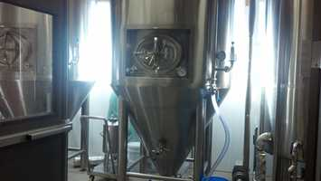 All of the Snitz Creek beers are brewed onsite.